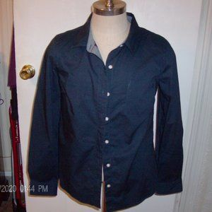 blue tommy hilfiger dress shirt